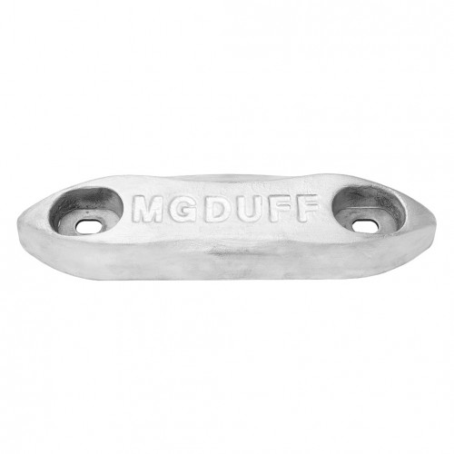 MG Duff zinc bolt on hull anode kit 4KG - Salt water use