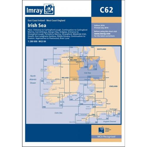 Imray Chart: C62 Irish Sea