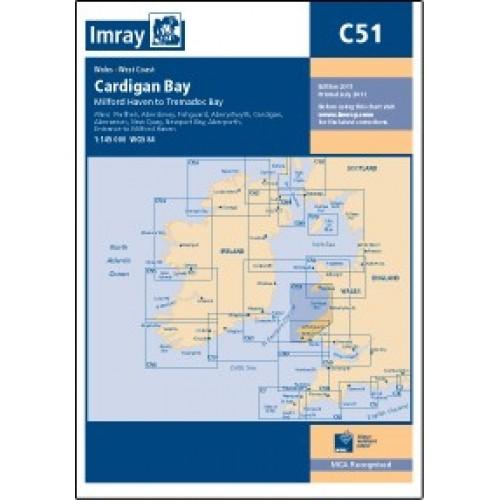 Imray Chart: C51 Cardigan Bay