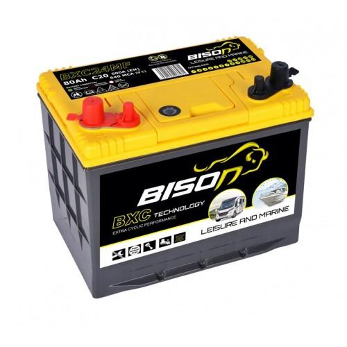 Bison BXC24MF Leisure Dual-Purpose Battery 12V 80Ah