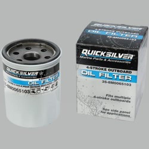 Quicksilver / Mercury 4-stroke Outboard Oil Filter: 35-8M0065103