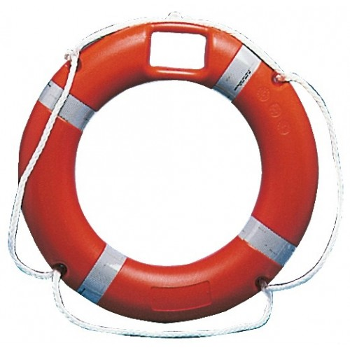 SOLAS Lifebuoy Ring with Rescue Light Housing 45 x 75cm